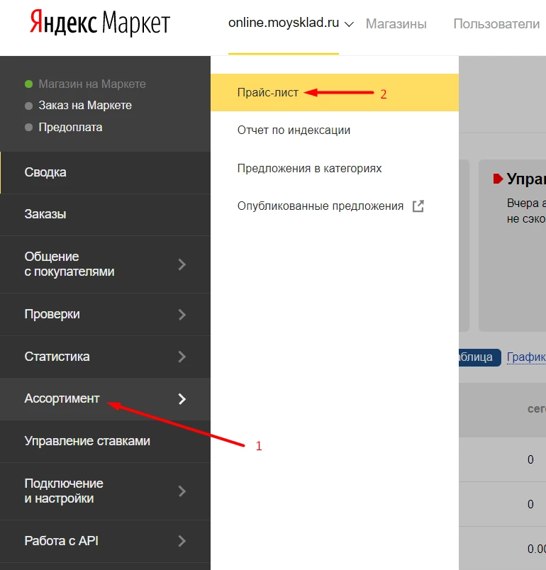 Яндекс Маркет Личный Магазин